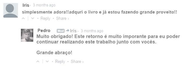 Depoimento - Iris do Ceará