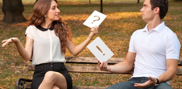 Diálogo entre o casal